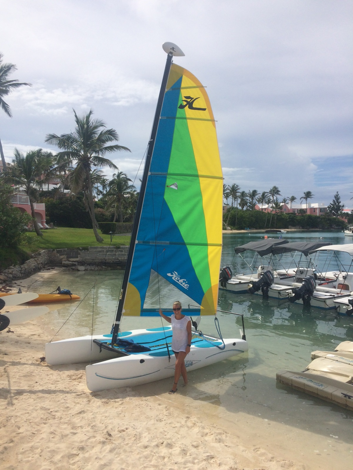 Fun Hobie Cat Sail in Bermuda
