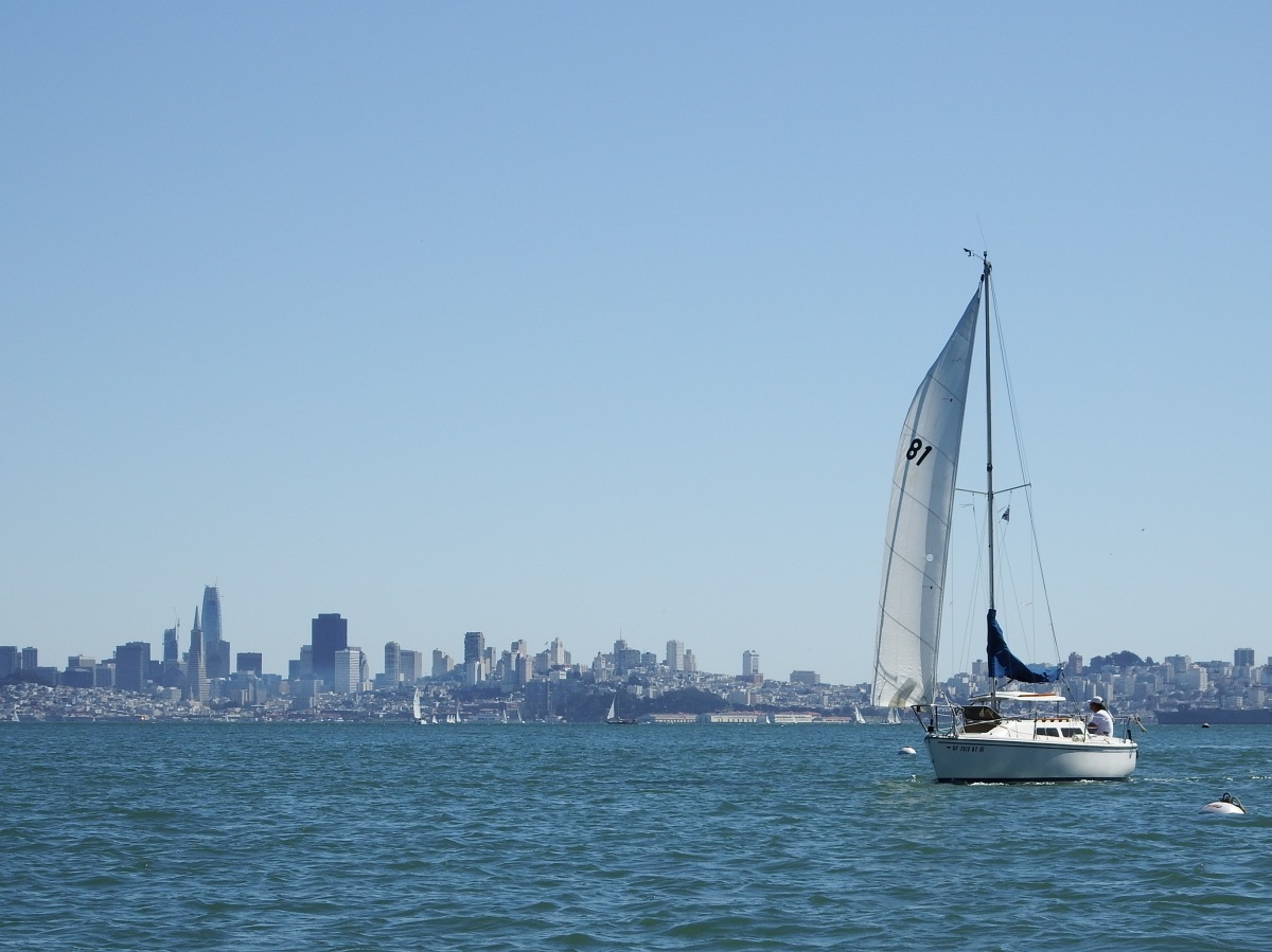 A few impressions taken from a ride with our new dinghy – Sausalito