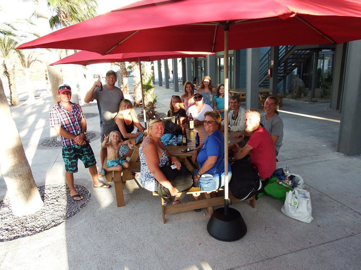 Hard to say Good-bye! Puerto Escondido /Loreto