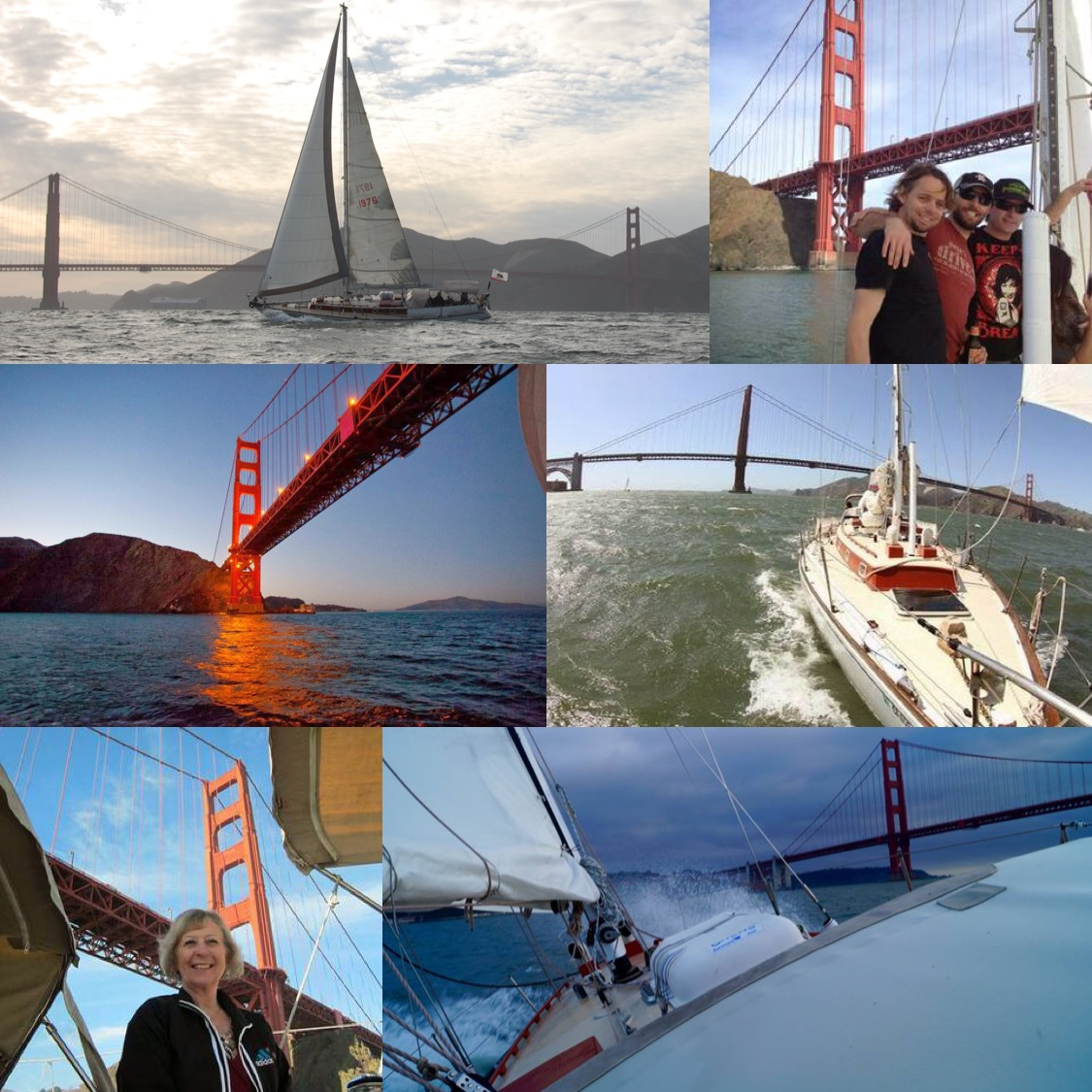 San Francisco Bay sailing charters!