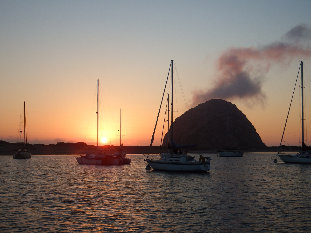Morro Bay – a well deserved rest!